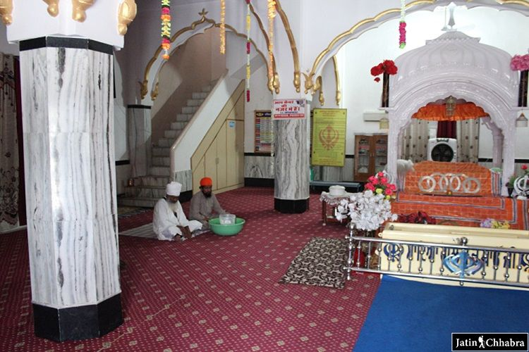 Ragi sahab in the Gurdwara