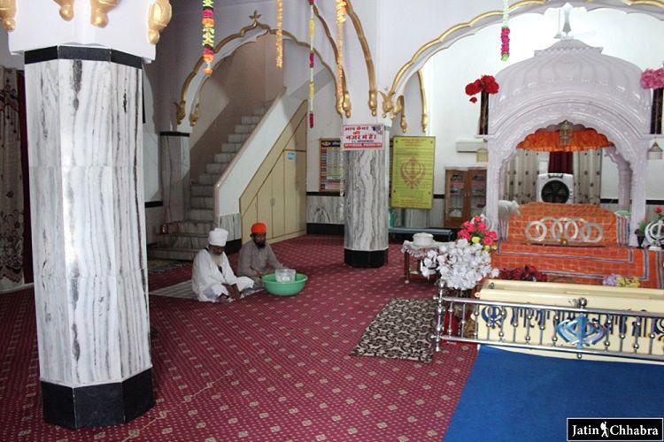 Ragi sahab in the Gurdwara