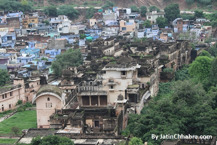 Palace for Kings guest below Bundi Palace