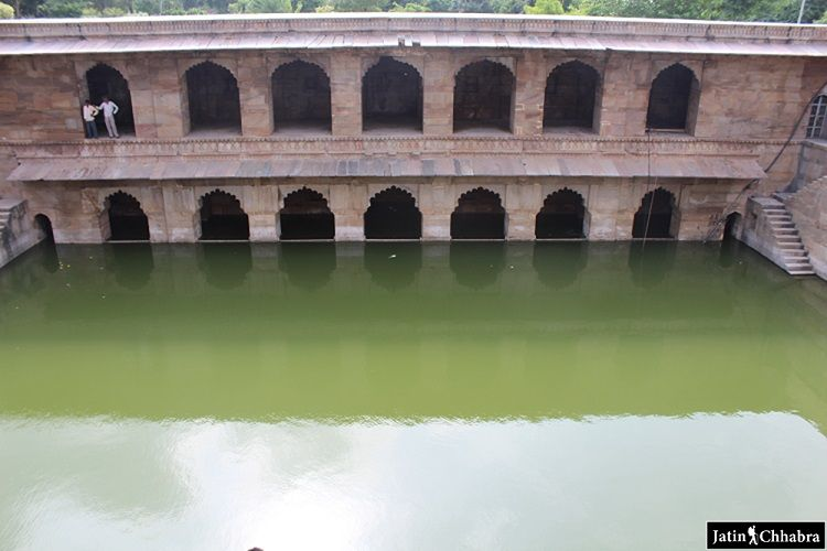 Hadi rani ka kund, Rooms