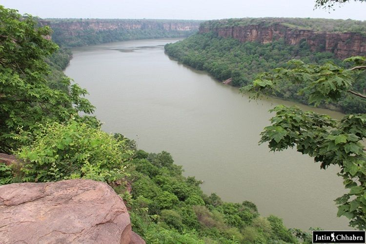 Depth of Chambal Ghati at Garadia