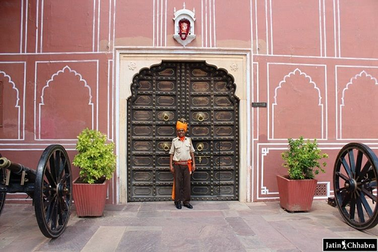 Entry gate of Chandra Mahal