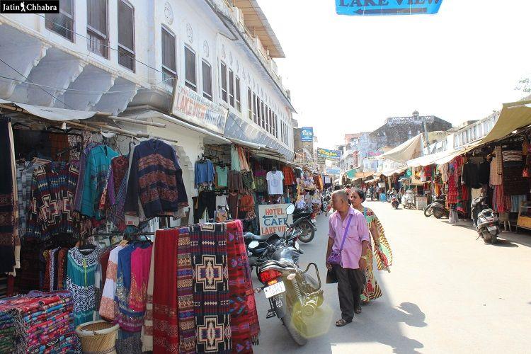 Sadar Bazaar Pushkar