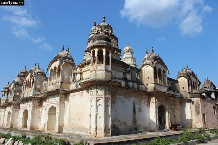 Old Rangji temple at Pushkar