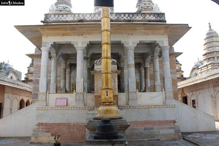 Old Rangji temple Pushkar
