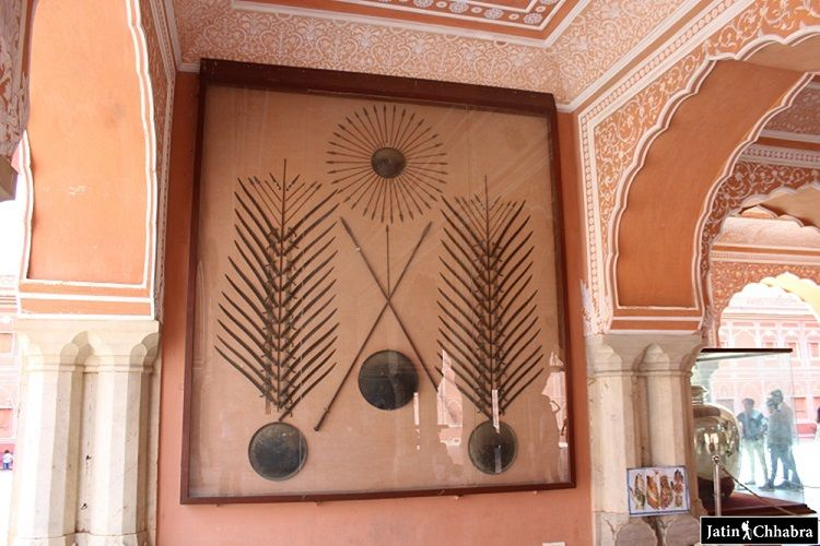 Spears Wall Hanging at Diwan-i-aam