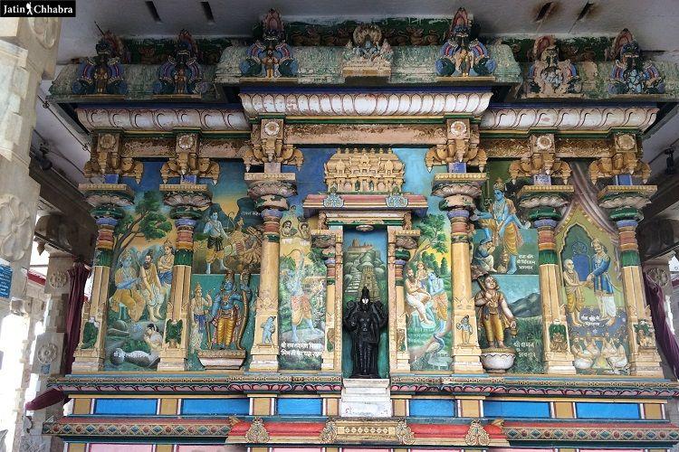 New Rangji temple at Pushkar