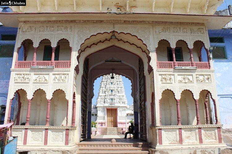 New Rangji Temple Pushkar