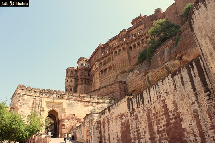 A Gate of Mehrangarh Fort