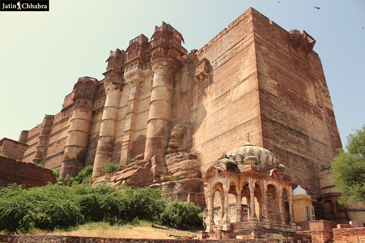 Mehrangarh Fort Entrance