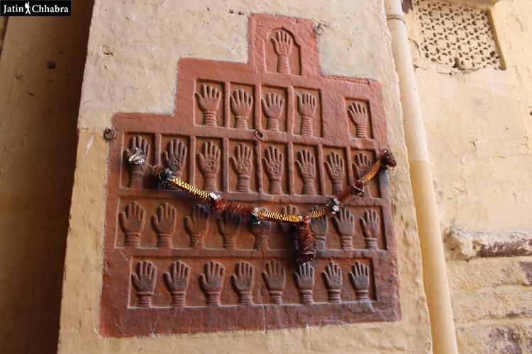 Sati Queens Hand prints