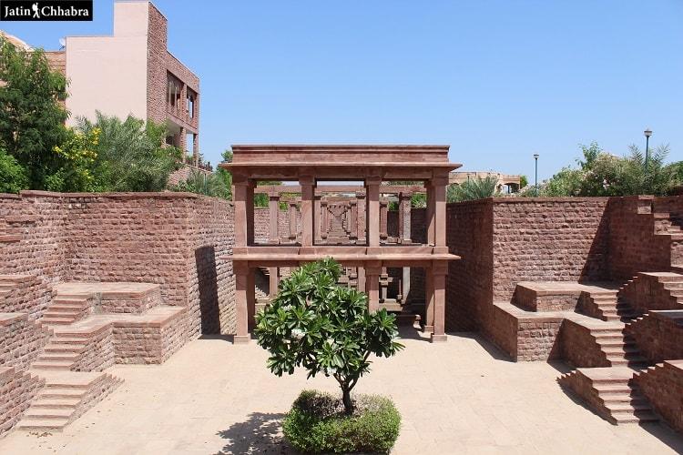 Entrance of Birkha Bawri in Jodhpur