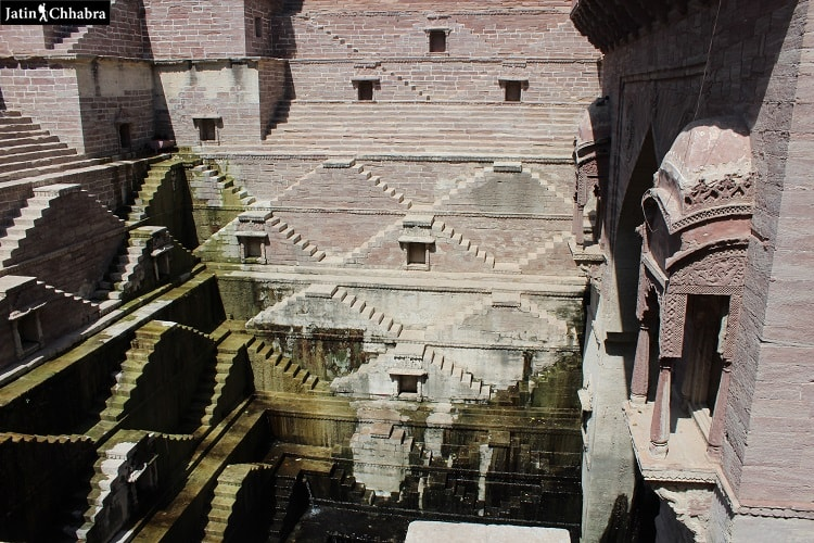 Stepwells of Toor ji ka Jhalra