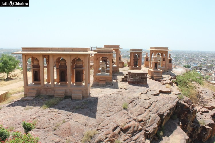 A few more cenotaph at Jaswant Thada