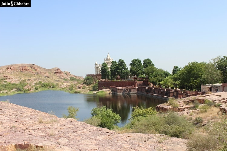 First view of Jaswant thada