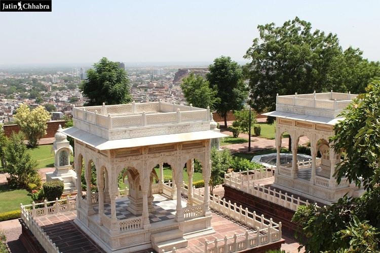 Cenetoph at Jaswant Thada Jodhpur