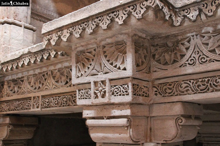 Design at the fifth floor of Adalaj Vav