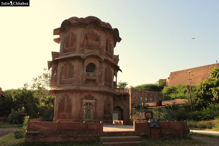 Part of Mandore fort