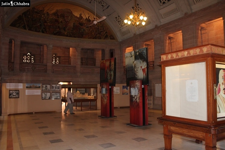 First view of the Museum