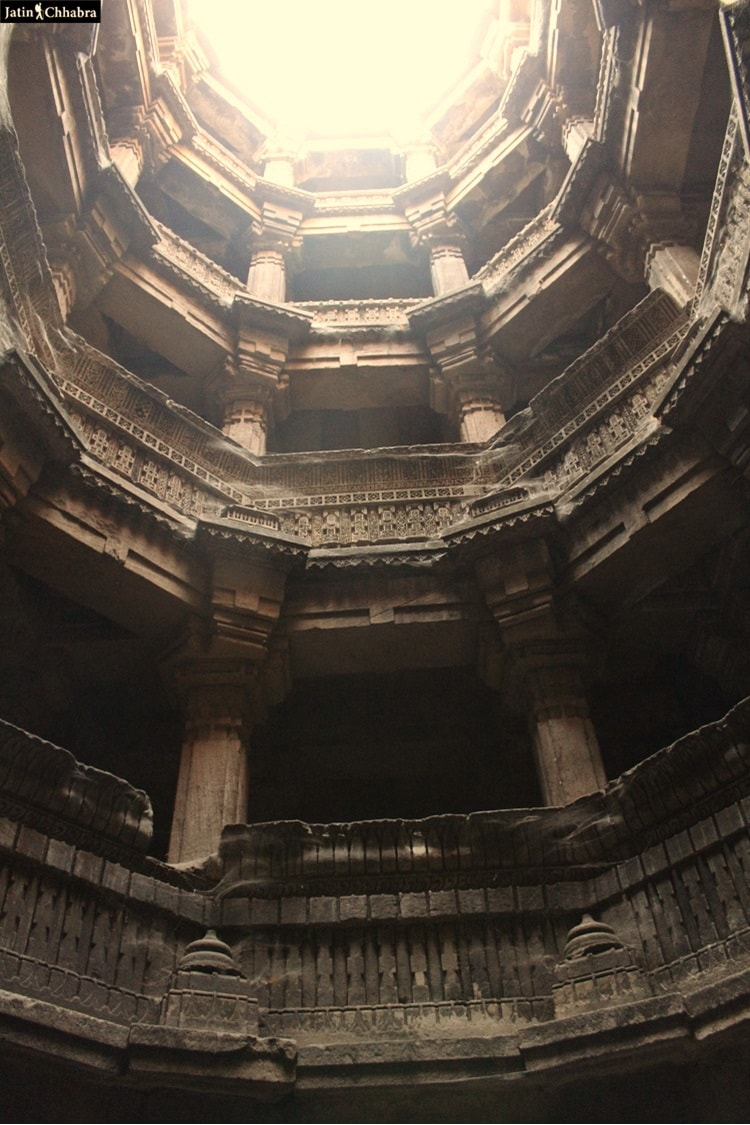 All floors of Dada Harir Vav