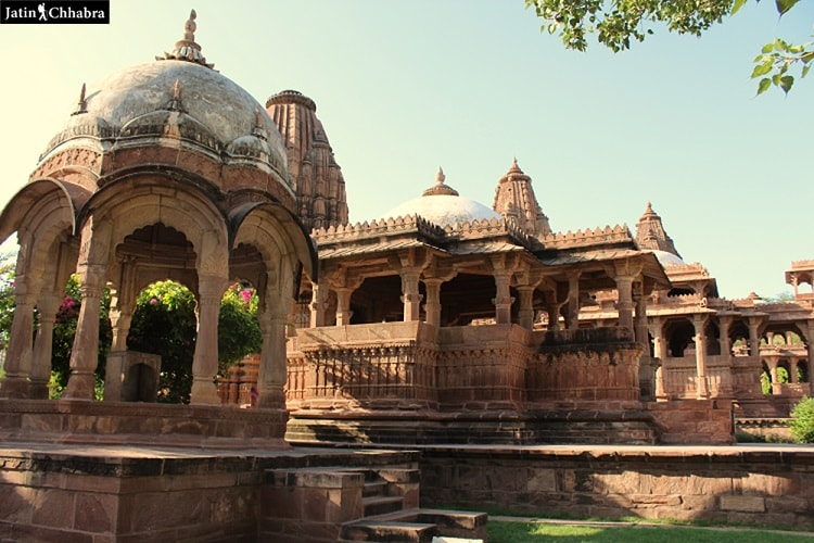More Temples in Mandore Garden