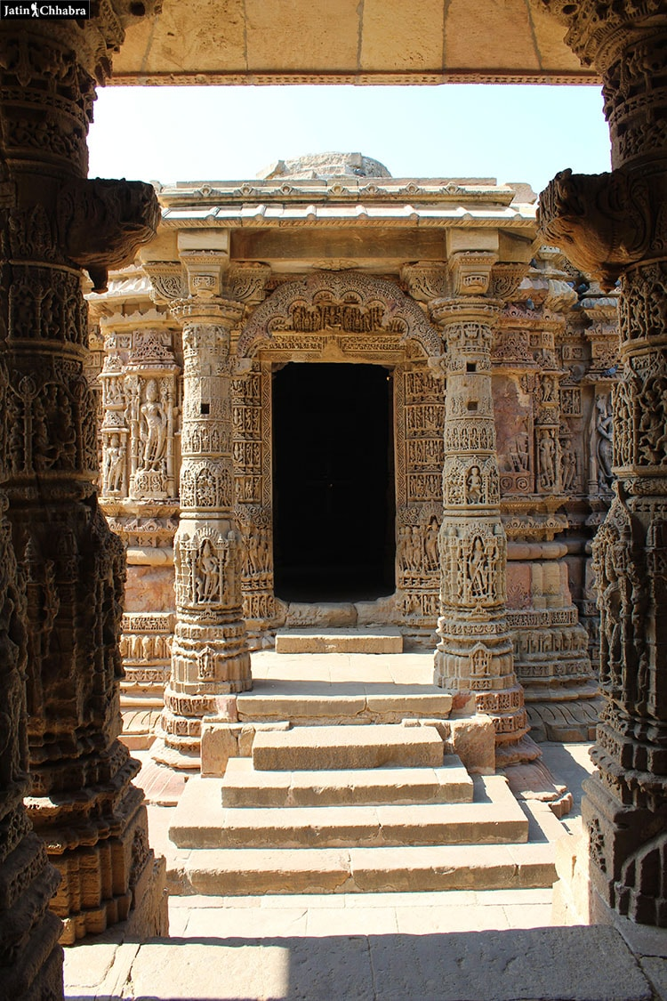 Garbhagriha Entrance