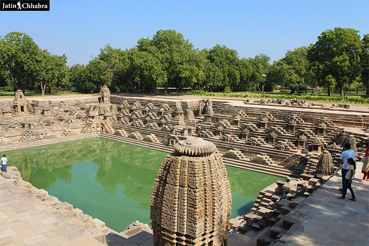 Surya Kund at Modhera Sun Temple