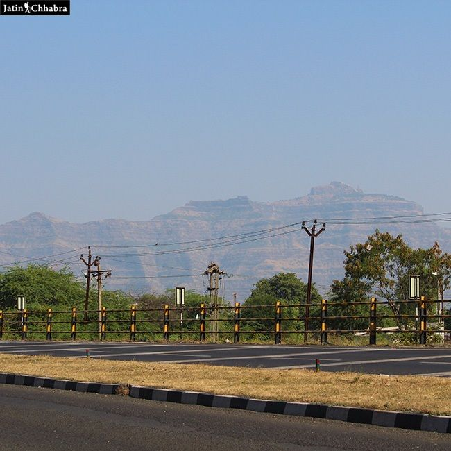 Pawagarh Hill View from Highway