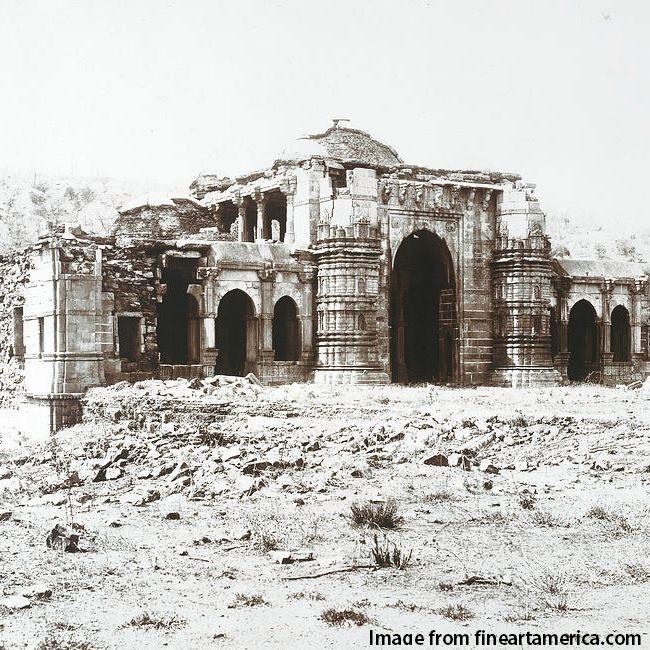 Orignal snap from 19th century Champaner