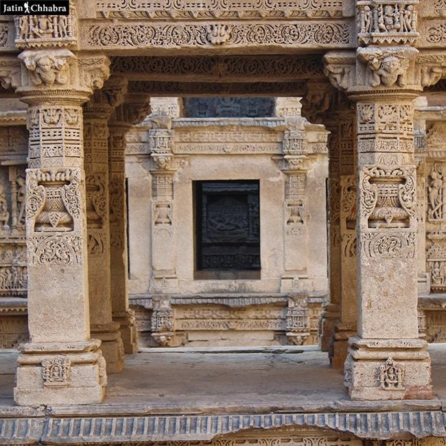 Vishnu Sculptures at Rani Ki Vav