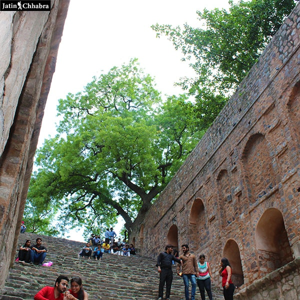 Agrasen ki Baoli from 3rd floor