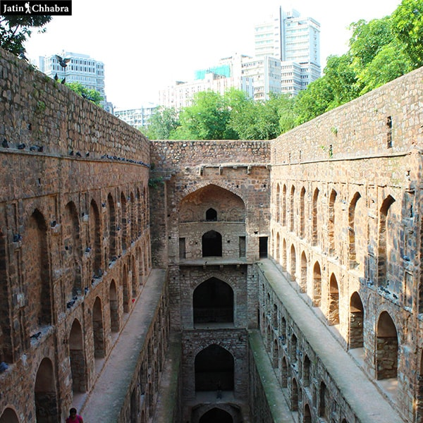 Agrasen ki Baoli from 1st floor