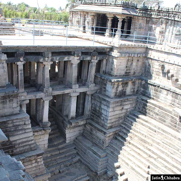 Lakkundi Stepwell at Manikeshwara temple