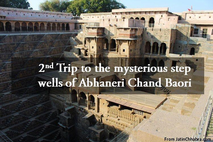 Chand Baori Trip