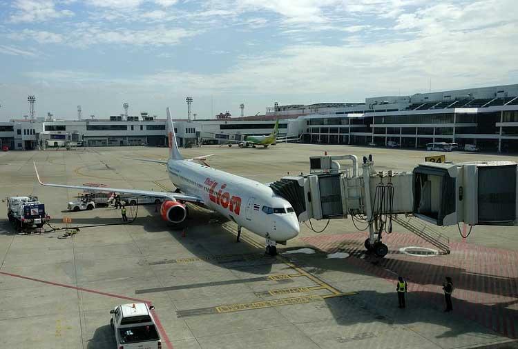 bangkok airport view